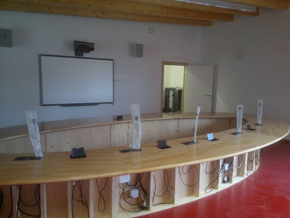 Sonorisation et équipement d'un collège