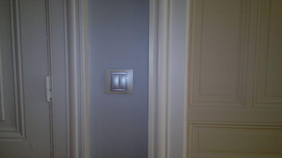 Eclairage d'un couloir